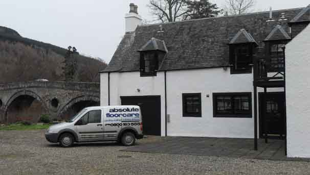 Absolute Floorcare cover Fife and the north east of Scotland