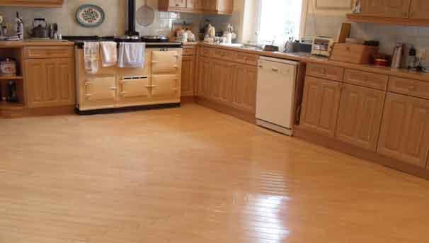Absolute Floorcare sand kitchen floors